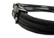 Black Braided 8-pin EPS Extension