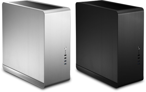 The Nofan A890a Silent PC - available with solid side panels
