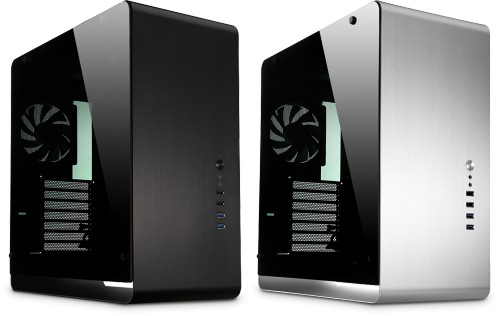 The Nofan A890a Silent PC - available with tempered glass side panels